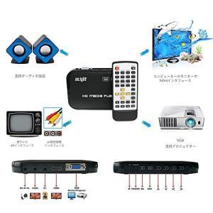 最新技術―VGA・光デジタルオーディオ出力 マルチ出力:HDMI/VGA/AV/YPbPr((含まれ...