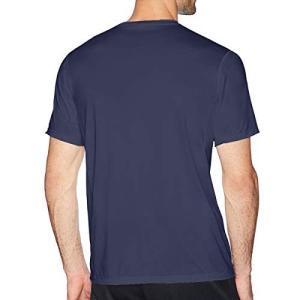 マシュメロ Tシャツ メンズ 無地 吸汗速乾 インナーシャツ 綿 半袖 クルーネック 丸首 カジュアル シンプル ファッション|rinco-shop