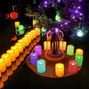 Magic Hue LED Bluetooth スマート1600万色ブルートゥース イルミネーションキャンドル 蝋燭灯 省エネ・長持ち・便利 結婚記念|rinco-shop