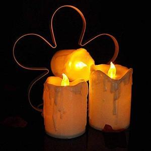 Saytay LEDろうそく ワックス型 キャンドルライト 揺らぐ炎 バッテリー操作 間接照明 パーティー、祈願、誕生日、記念日や結婚式により良い雰囲|rinco-shop
