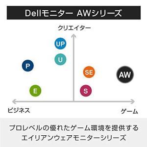 Dell ゲーミングモニター 34.1インチ ALIENWARE FPS向き/曲面/120Hz/UW...