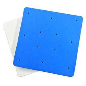 シュガー クラフト スポンジパッド 2枚 セット ( 穴付き & 穴なし ) / シュガー アート モデリング & フォーミング 整形台 / シュガー|rinco-shop