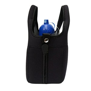 WANDAWAY お散歩バッグ・ネオプレーン ブラック ペット用|rinco-shop