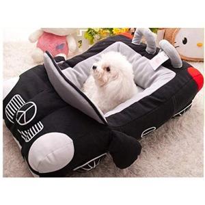 【MarieAnge】 DOG CAT 犬 猫 スポーツカー フェラーリ ベンツ ペットハウス あったか ペットベッド 寝袋 洗えるソファーマット S|rinco-shop