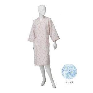 コベス 婦人カラーガーゼ合わせ(湯上がり)  サックス NE72|rindr