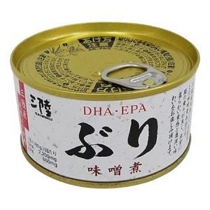気仙ぬまほてい 缶詰 ぶり味噌煮 180g×8個 06931465|rindr