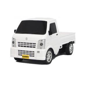 予約商品 SUZUKI(スズキ) CARRY(キャリイ) R/C スズキ株式会社承認済みラジオコントロールカー ホワイト|rindr