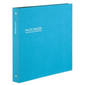 セキセイ ハーパーハウス(R) フォトバインダー(高透明) XP-3233-10 ブルー|rindr