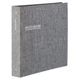 セキセイ ハーパーハウス(R) フォトバインダー(高透明) XP-3236-62 グレー|rindr