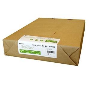 長門屋商店 マルチ用紙 ホワイトペーパー B4 厚口 500枚パック ナ-513|rindr