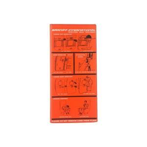 BRANIFF ブラニフ ボーディングパスケース LBN007-OG オレンジ|rindr