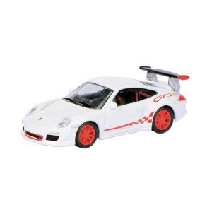 Schuco/シュコー ポルシェ 911 GT3 RS (997) ホワイト/レッド 1/87スケール 452609200 rindr