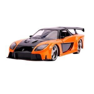予約商品 正規輸入品 Jada TOYS ミニカー 1:24 F&F Han's Mazda RX-7 26024|rindr