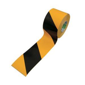 交通安全用品 日東電工 危険標示 表示 安全確保 工事現場 工場 トラテープT-3-45|ring-g