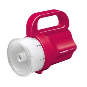 避難・生活用品 LED 懐中電灯 ランタン 非常用 防災用 パナソニック電池がどれでもライト レッドBF-BM10-R ring-g