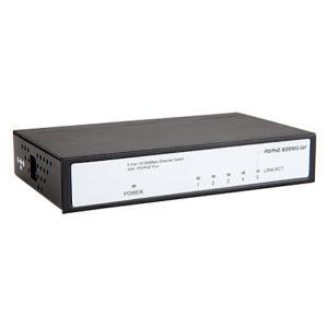 防犯カメラ周辺機器 給電ハブ NSS PoEハブ(5ポート)NSIE254 ring-g