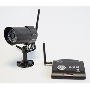 ワイヤレスカメラ 無線 SDカード録画一体型 防水・防塵ワイヤレス防犯カメラセットAT-2800|ring-g