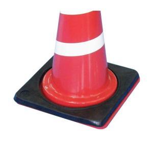 交通安全用品 錘 重り おもり コーンウエイト カラーコーン用ウエイト 角型コーンベース|ring-g
