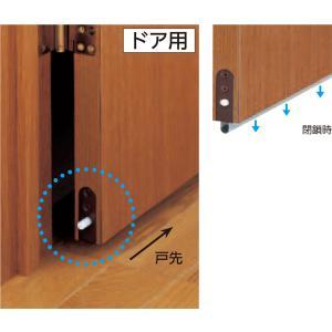 金物 マツ六 エクレ ボトムタイトナー1型(埋込タイプ)400〜600mm NDB1-600|ring-g