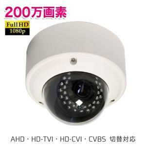 (2M)4in1ドームカメラ UN-FD9200 2メガピクセル 防犯カメラ 屋外 屋内 セキュリティ 監視カメラ AHD 防水 HD-TVI ring-g
