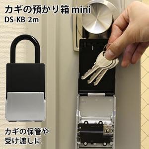 キーボックス ダイヤル式 暗証番号 4桁 大容量 玄関 おしゃれ  ABUS カギの預かり箱mini DS-KB-2m|ring-g