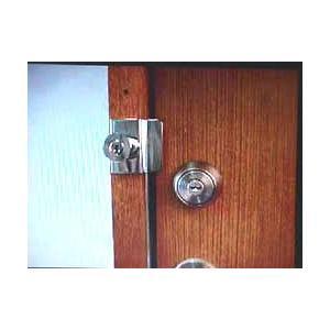 補助錠 玄関 倉庫 防犯グッズ 防犯 ツーロック モヒトツロック|ring-g