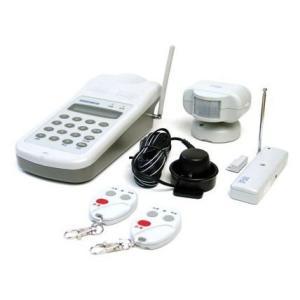 セキュリティ機器 自動通報 緊急報知 非常ベル タイム24 ゆうゆうすまいる 介護 ワイヤレスホームセキュリティフルセット CE-200FDX|ring-g