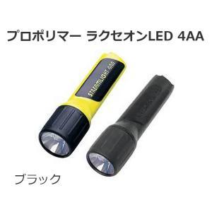 フラッシュライト STREMLIGHT ストリームライト 高輝度LED 連続点灯155時間 プロポリマー ラクセオンLED 4AA ブラック|ring-g
