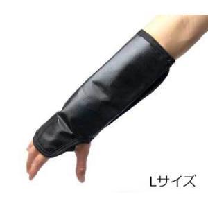 防護用品 タートルスキン 防刃・穿刺対応プロテクティブ スリーブプラス Lサイズ|ring-g