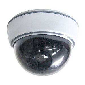ドームカメラ マザーツール 防犯 侵入者を威嚇 LED付き  屋内用 ドーム型ダミーカメラ DS-1500B|ring-g