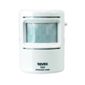 X50 ワイヤレス人感送信機 REVEX リーベックス Xシリーズ 人感センサーチャイム X850 特定省電力 人感センサー送信機 受信チャイム|ring-g