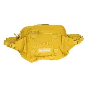 シュプリーム SUPREME 17SS Waist Bag ボックスロゴナイロンウエストバッグ イエ...
