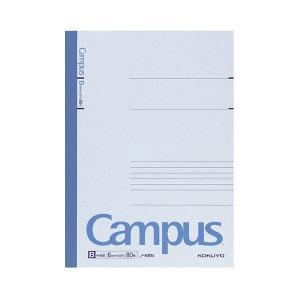 【商品名】 (まとめ) コクヨ キャンパスノート(中横罫) セミB5 B罫 80枚 ノ-8BN 1冊...