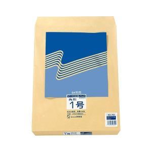 702  【商品名】 (まとめ) ピース R40再生紙クラフト封筒 角1 85g/m2 702 1パ...