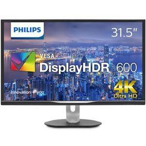 328P6VUBREB/11  【商品名】 PHILIPS(ディスプレイ) 31.5型 4K Dis...