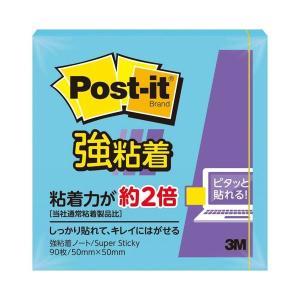 650SS-B  【商品名】 (まとめ) 3M ポスト・イット 強粘着ノート50×50mm エレクト...