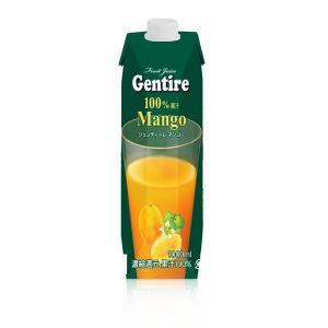 【商品名】 Gentire(ジェンティーレ) マンゴージュース 1L×12本  【ジャンル・特徴】 ...