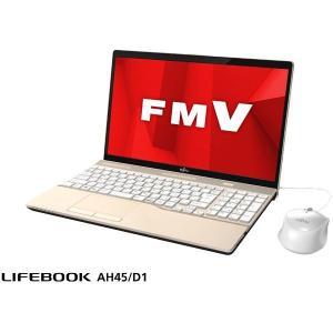 FMVA45D1G  【商品名】 FUJITSU LIFEBOOK AH45/D1 シャンパンゴール...
