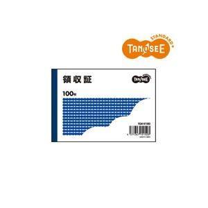 TGK-R1100  【商品名】 (まとめ)TANOSEE 領収証 B7・ヨコ型 100冊 【ジャン...