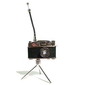 カメラ型オイルライター 三脚 レリーフ 付き|rinkydink