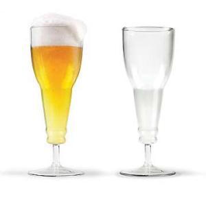 Fred 【フレッド】 BEER DEAUX ビール瓶型 ワイングラス rinkydink