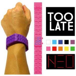 TOO LATE 【トゥーレート】NEO 腕時計 ネオ ウォッチ|rinkydink