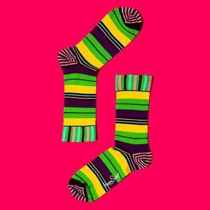 HAPPY SOCKS 【ハッピーソックス】 メンズ&レディス StripeMany03|rinkydink