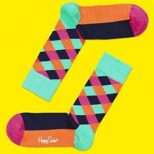 HAPPY SOCKS 【ハッピーソックス】 メンズ&レディス Square 01|rinkydink