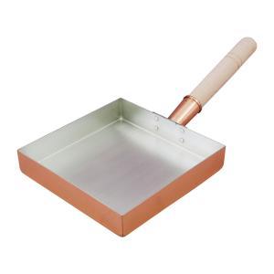 銅玉子焼関東型 18cm【製造元出荷】