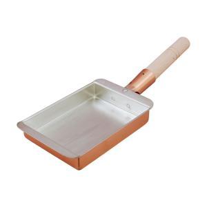 銅玉子焼関西型 12cm【製造元出荷】