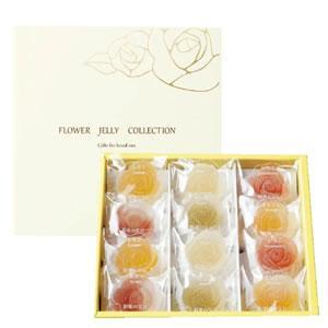 彩果の宝石 フラワーゼリーコレクション 6種類12個入り (R12)