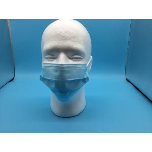 3PLY(3枚重ね)耳掛けマスク(ブルー)50枚入り/箱|rintray