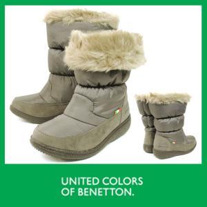 【送料無料セール】防水スノーブーツ 冬靴 防寒 スノーブーツ 2way ベネトン 365 チャコール 雪 ゆったり3E設計 防水ブーツRCP
