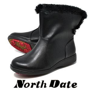 冬のアイスバーンに滑りにくいノースデイトのスノーブーツです!  超軽量タイプ、中は暖かい防寒ボア仕様...